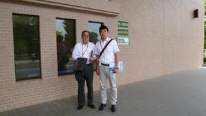国立島根県大学訪問記念