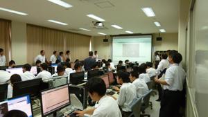 国立松江工業高等専門学校訪問風景