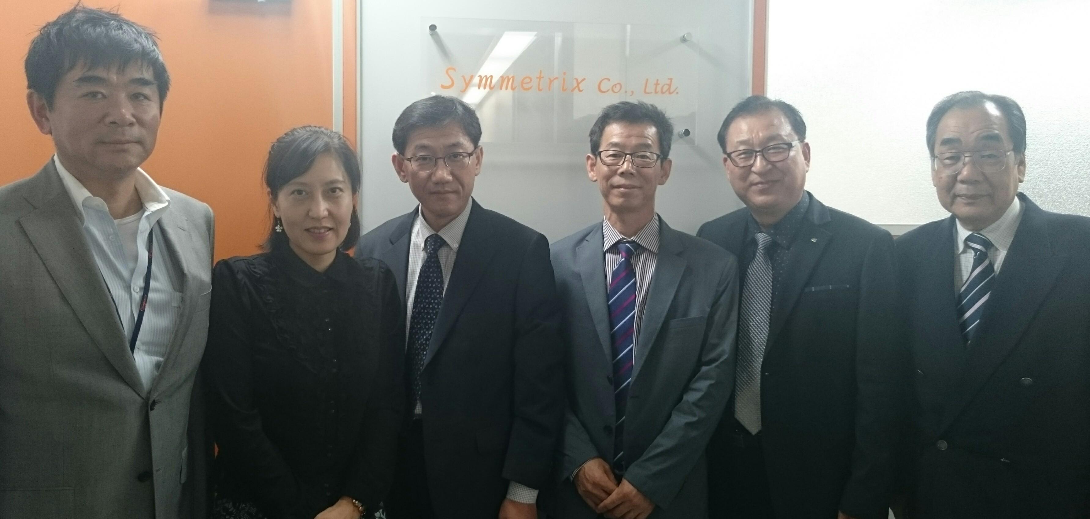 江南大学教授、来訪20151020-2