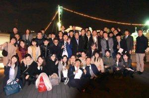 31-入社式の記念写真
