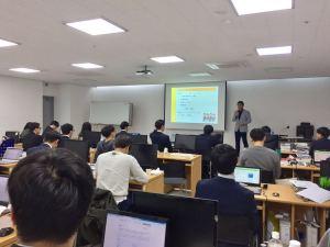 韓国水原商工会議所にて会社説明会を行いました