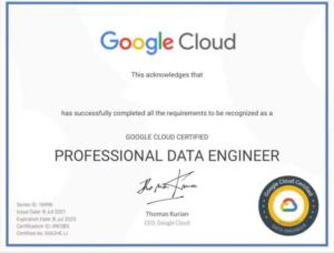 弊社エンジニア、Google Cloud認定試験に合格